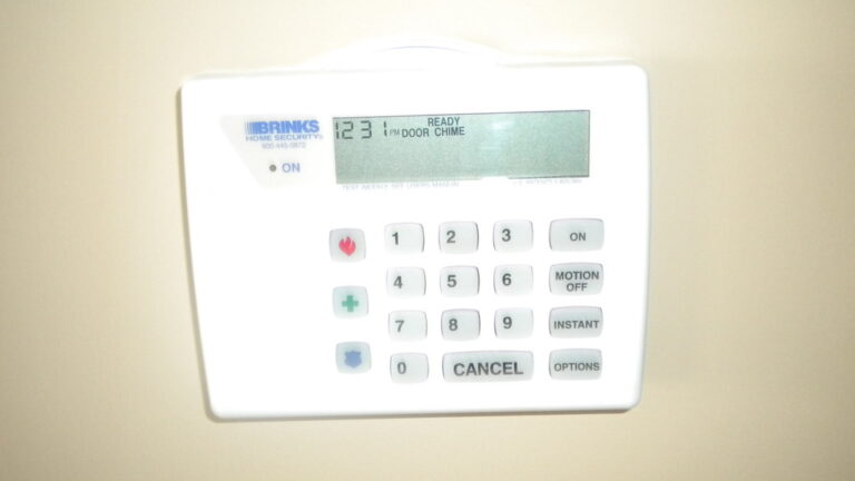 A Minimal-Tech Means to fix Security Alarm